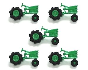 Plowin Thru Tractors Buttons Dress It Up Novelty Embellishment Collection