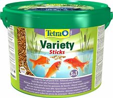TetraPond Variety Sticks Bucket Pond Suitabele for Various Fish Mixture 10 Litre