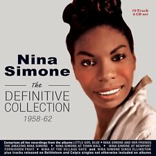 NINA SIMONE - THE DEFINITIVE COLLECTION 1958-62  4 CD NEUF
