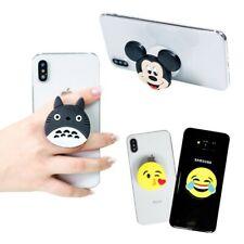 3D Cartoon Socket Phone Grip Stand Phone PopUp Smartphones with Air Bag Bracket