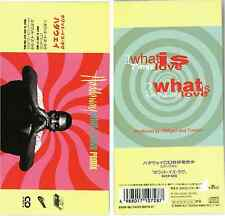 "HADDAWAY What is love Remix CD SINGLE JAPAN 8cm BVDP-96 7"" + Eat This Mix s4419"
