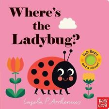 Where's the Ladybug? by Nosy Crow Staff (2017, Board Book)