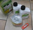 HONDA Servicekit para GX 340 / 390 - Filtro, 2 x Aceite, Bujía , Set