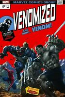 Venomized #1 Homage Hulk 181Homage Cover  ( Trade Dress)