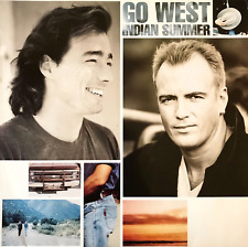 GO WEST ‎- INDIAN SUMMER (LP) (G++/VG-)