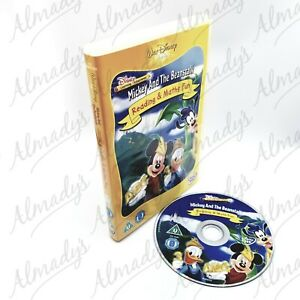 Mickey And The Beanstalk Reading & Maths Fun Educational DVD FREE POST Oz Seller