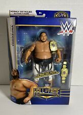 Yokozuna WWE Elite Hall of Fame Figure MOC Mattel wwf aew