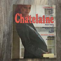 Vintage French Chatelaine Magazine August 1974