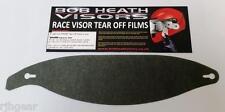 Shark Visor Tear Offs Race-r Race-r Pro Helmets Light Tint Bob Heath Visors T006