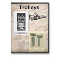 Trolley Cars and Trolley Train Rail Railroad Travels - 12 Books on CD D331