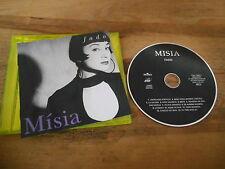 CD Ethno Misia - Fado (13 Song) BMG / ARIOLA jc - booklet : bad cond/beschädigt
