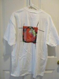 Tori Amos -  VINTAGE  CONCERT T-SHIRTS - XL - 5 & 1/2 WeeksTour Strawberries