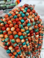 Wholesale 8 10 MM Color Round Spacer Loose Beads DIY Natural Gemstone