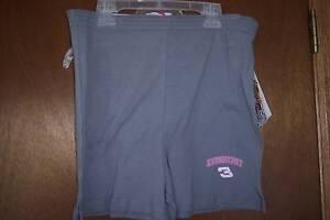 NASCAR Dale Earnhardt #3 Shorts grey  NWT Womens M