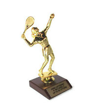Tennis, Female Trophy- Sports Award- Tournament- Desktop Series- Free Lettering