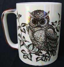Owl Pearlized Mug Cup Coffee Tea Cocoa Name Ruby