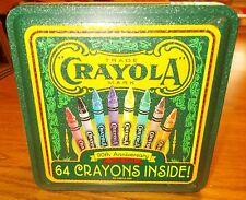 Crayola Crayon1993 Collectible Holiday Tin 64 Crayons