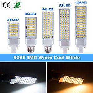 E27 G24 3528 5050 SMD 25 35 44 52 60 leds LED Corn Light  Bulb Lamp Downlight