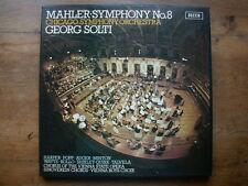 MAHLER SYMPHONY N° 8 GEORG SOLTI CHICAGO SYMPHONY ORCHESTRA BOX-SET 2 LP