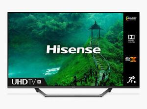 Hisense 65AE7400FTUK 65 Inch SMART 4K Ultra HD HDR LED TV Freeview Play Wi-Fi