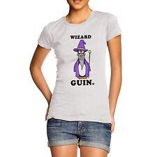 Women's Wizard Guin The Penguin Funny T-Shirt