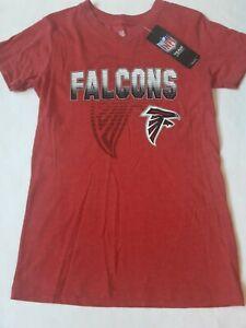 NFL Atlanta Falcons T Shirt girls Size Medium 10 12