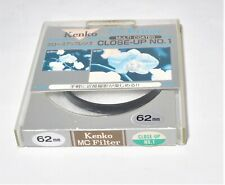 Kenko MC Filter Multi Coated Close-Up No.1 62mm from Japan