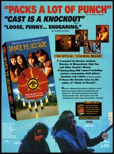 DANCE ME OUTSIDE__Original 1995 Trade print AD / ADVERT__Adam Beach__Ryan Black