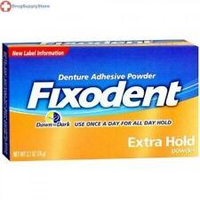 Fixodent Denture Adhesive Powder Extra Hold 2.7 oz