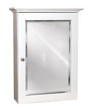 Linen White 19 X26 Mirrored Medicine Cabinet