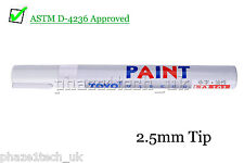 Paint Pen - Tyre Tire Pen - White - 2.2 - 2.8mm tip Toyo Marker