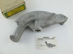 """Greenlee NEW 3/4"""" EMT Hand Condiut Pipe Bender No 841 Site-Rite 1/2"""" rigid NOS"""