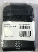 Leather Blackberry Swivel Holster With Clip, Black, Model Hdw-24208-001 Phone