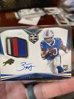 ZACK MOSS 2020 PANINI LIMITED ROOKIE RPA AUTO 4 COLOR JERSEY PATCH RC #198/249