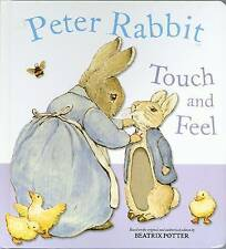 Peter Rabbit Touch and Feel Book by Beatrix Potter (Paperback, 2005)