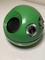 Panasonic Model R-70 Panapet Ball & Chain Transistor AM Radio - Green