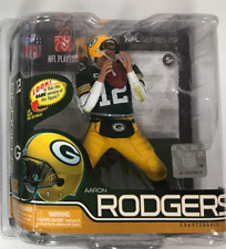 MCFARLANE'S NFL SPORTSPICKS AARON RODGERS GREEN BAY PACKERS SERIES 30 FIGURE