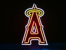 "New Los Angeles Angels of Anaheim MLB Beer Pub Bar Neon Light Sign 17""x14"""