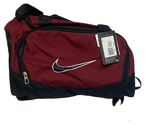2010 Nike Small Training Gym Sports Duffle Bag Black & Red Lunch Pale