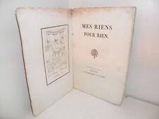 Mes Riens pour Rien, par Hughes Delaloge. Beau frontispice gravé - Dijon, 1803