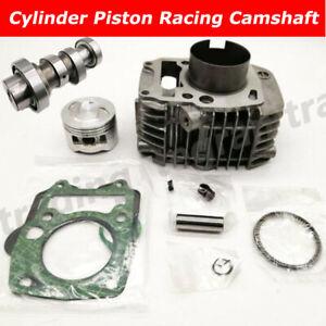 57mm Big Bore Cylinder Racing Camshaft Piston For Honda ANF125 ANF125i Innova