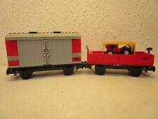 Lego 9V 12V RC Eisenbahn 2 x Güterwaggon Waggon passt zu 4563 7727 7898 7939