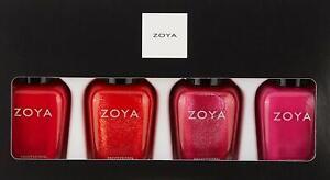 Zoya Nail Polish Quads. Set of Four Bottles. Perfect Holiday Gifts.