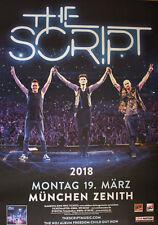 The Script - Tourposter/Tourplakat 2018 - München - NEU