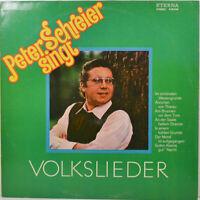"""Peter Schreier Sings Volkslieder - LP 12 """" (Z1332)"""