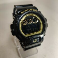Casio G-Shock GShock DW-6900CB-1DS DW6900CB Gold Black Digital Men's Watch 1289