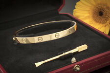 Schmuck Cartier Love Armreif Armband Bracelet in 750er Gelbgold Größe 20 OVP