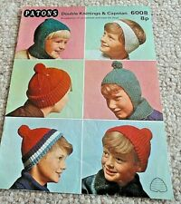 Vintage DK Hats for Boys aged 6 to 16 years