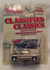 CLASSIFIED CLASSICS PICKUPS Die Cast RACING CHAMPIONS Free Shipping