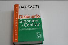 GARZANTI - DIZIONARIO SINONIMI E CONTRARI